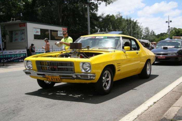 Фестиваль автомобилей Summernats (20 фото)