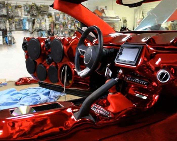 Гетто-тюнинг Chevrolet Camaro (19 фото)