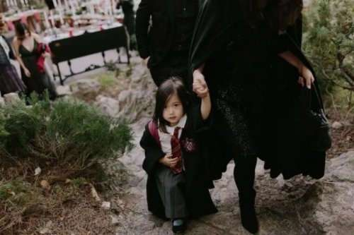 Тематическая свадьба в стиле -Гарри Поттера- (18 фото)