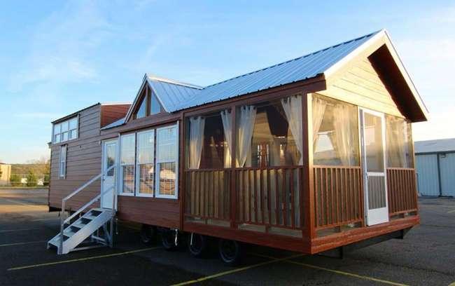 Этот дом на колесах доказывает, что для уюта нужно совсем немного