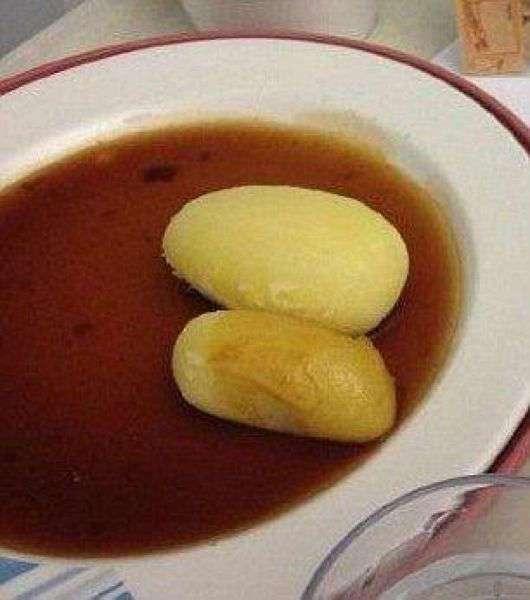 Вкусняшки, которыми кормят пациентов британских клиник (12 фото)
