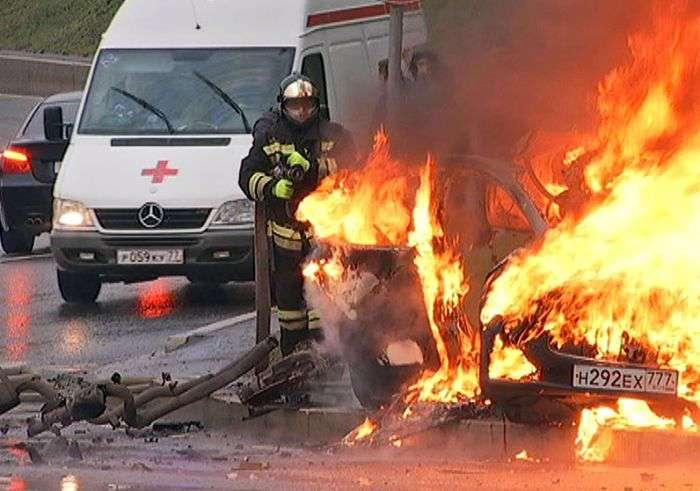 Погибшем водителем Maserati Ghibli оказался стритрейсер Артур Моисеев (10 фото)