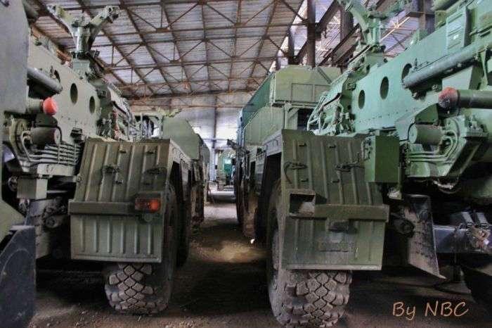 Военная техника на консервации (28 фото)