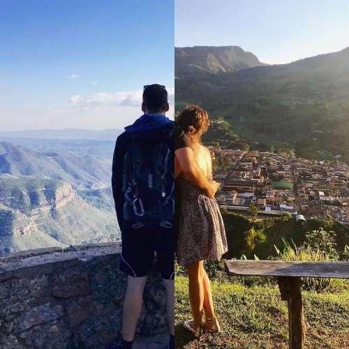 Креативные снимки пары, живущей на расстоянии (16 фото)