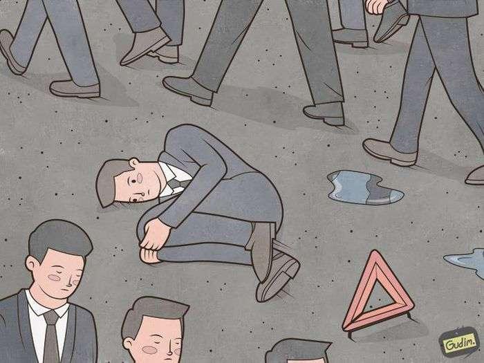 Сатирические картинки о современной жизни (29 картинок)