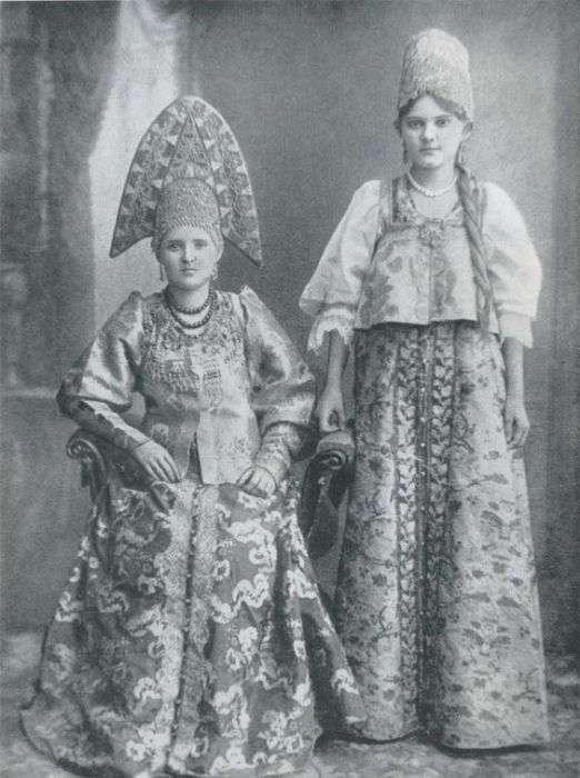 Русская одежда и быт XIX – начала XX века (21 фото)