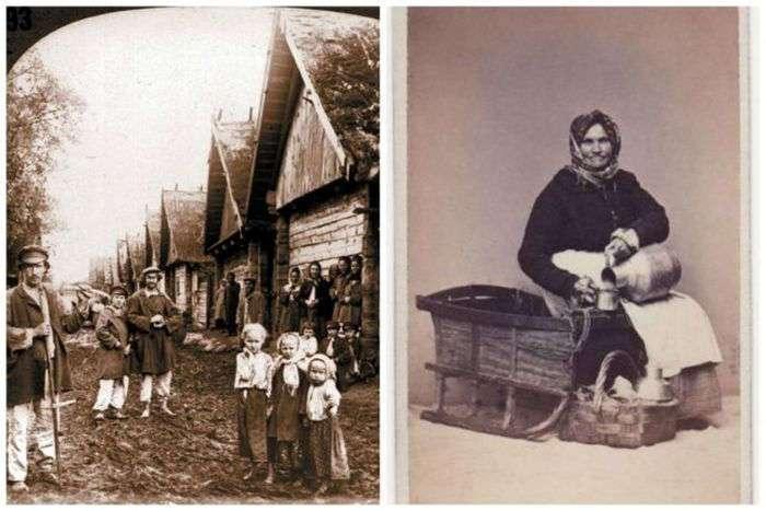 Русская одежда и быт XIX - начала XX века (21 фото)