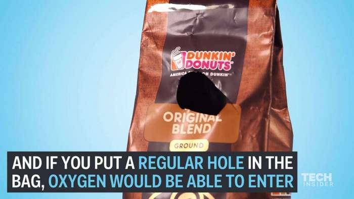 А вы знаете, для чего на кофейных пачках нужен этот клапан?