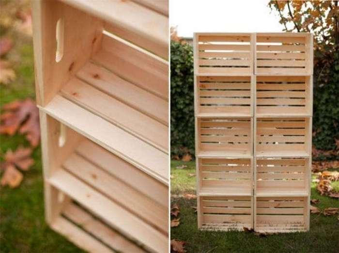 Вот что можно сделать из старых ящиков для овощей. Идея просто супер!