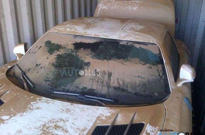 Суперкар Mercedes SLS AMG, который утонул в океане (8 фото)