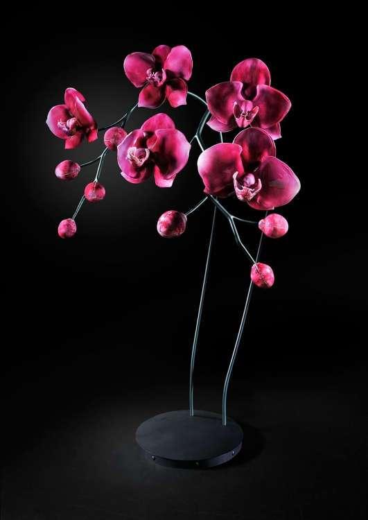 Гигантские цветы из стекла от Джейсона Гамрата (21 фото)