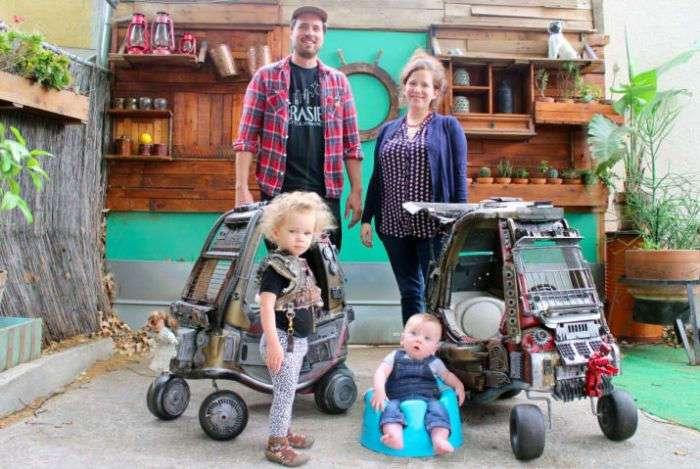 Детские коляски в стиле машин из -Безумного Макса- (13 фото)