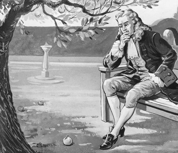 Яблоня, вошедшая в историю мировой науки