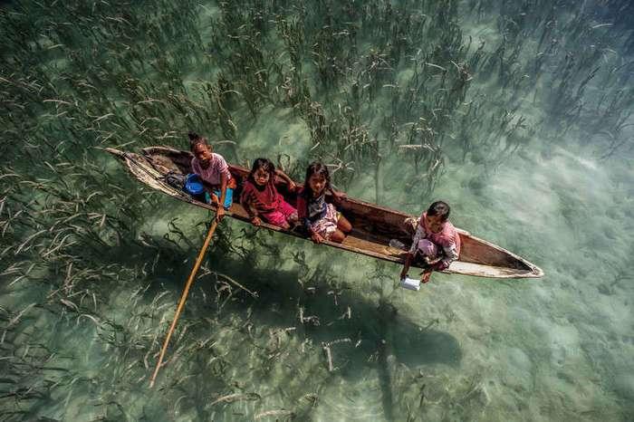 Как живут морские цыгане