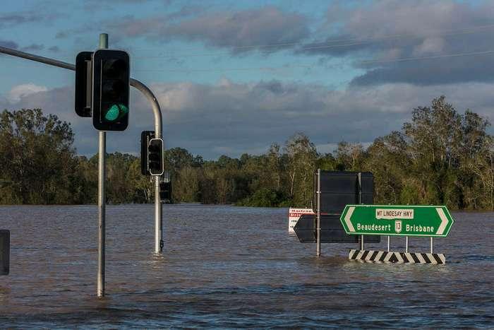 Последствия урагана -Дебби- в Австралии