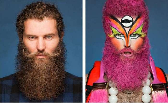 До и после: что скрывается под эпатажными образами травести-артистов
