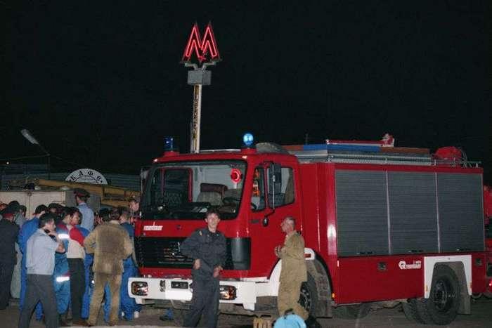 Теракты в российском метро