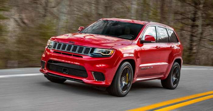 На днях Jeep представил самый мощный внедорожник Grand Cherokee Trackhawk