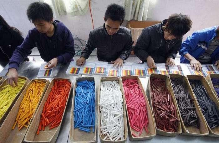Как работается на китайских фабриках