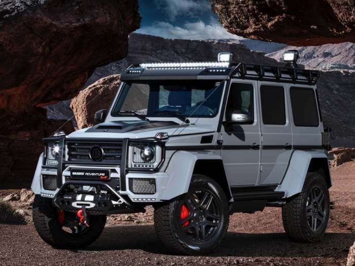 Новый фантастический внедорожник от Mercedes