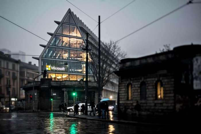 Как выглядит новый офис Microsoft в Италии