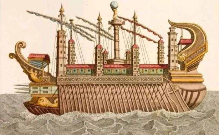 Корабли Калигулы для не всегда приличных развлечений