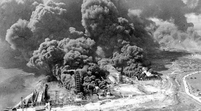 Одна из крупнейших техногенных катастроф, которая произошла из-за окурка
