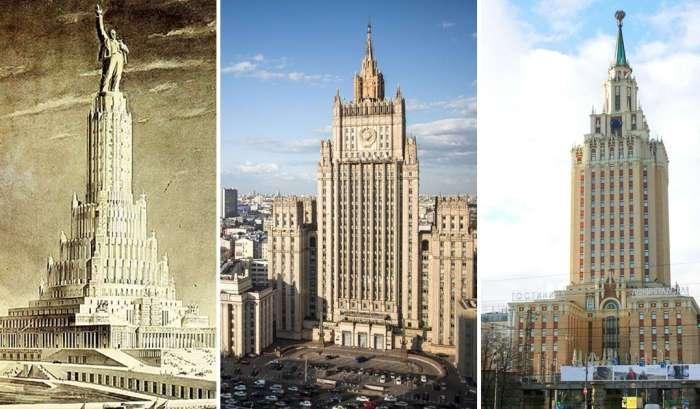 -Семь сестёр-: дома-легенды эпохи Сталина