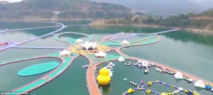 Очередное чудо света &8211; китайская плавающая дорожка