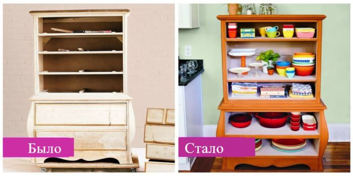 18 блестящих идей, которые помогут обновить старую мебель и здорово сэкономить на покупке новой