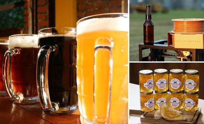 10 неожиданных вещей, которые были сделаны с использованием пива