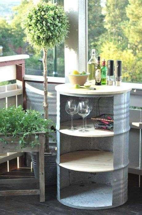 20 полезных вещей для дома, которые можно сделать самому из металлических бочек
