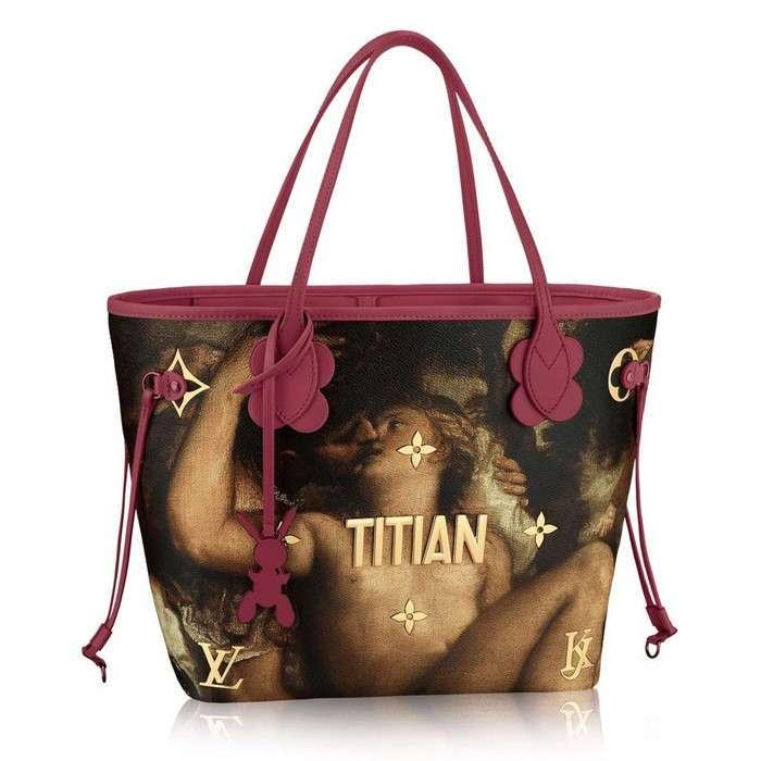 На грани китча: как выглядит -классическая- коллекция сумок от Louis Vuitton и Джеффа Кунса