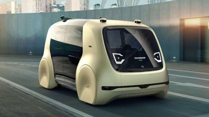 Футуристический Sedric – автономный автомобиль будущего от Volkswagen