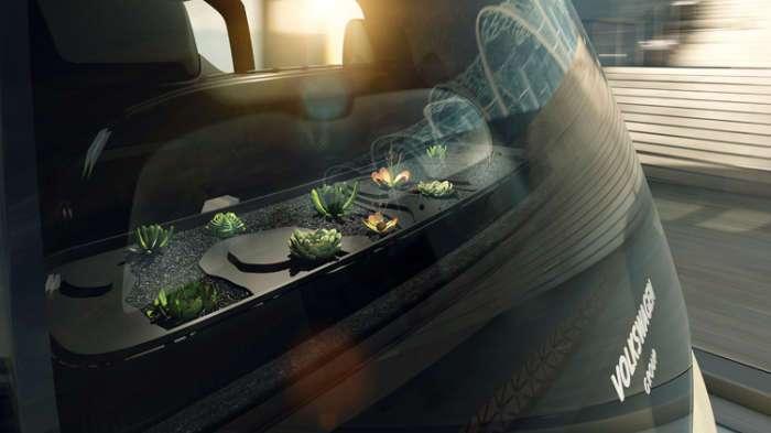 Футуристический Sedric - автономный автомобиль будущего от Volkswagen