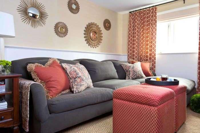 15 идей стильного оформления стены за диваном, которые добавят изюминку в интерьер гостиной