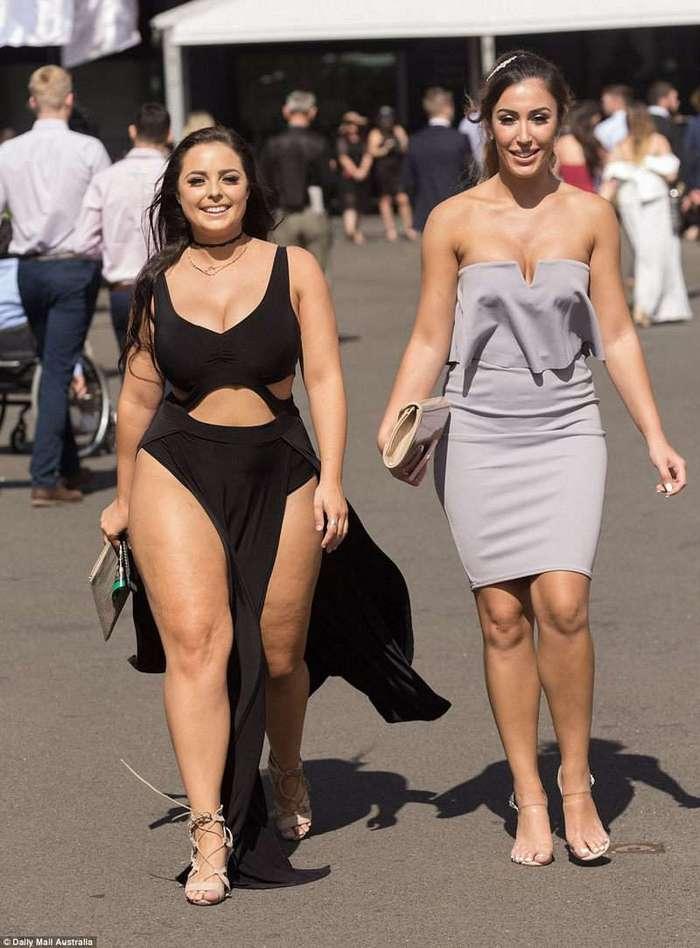 Всем скачкам скачки: австралийские леди впечатлили своими нарядами и манерами
