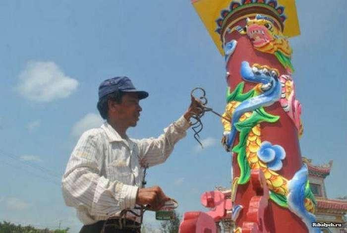 Вьетнамец отращивает ногти больше 35 лет (12 фото)