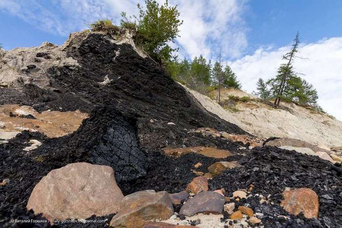 Попигайский кратер: где живут алмазы (33 фото)