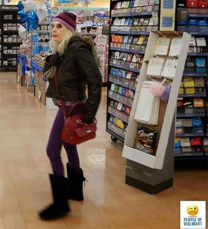 Кого только не встретишь в супермаркете&8230; (15 фото)