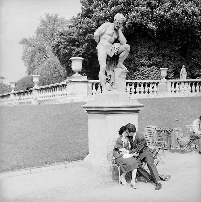 Французское юмористическое фото 1950-х