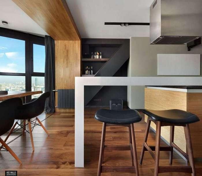 Интерьер двухкомнатной квартиры в Екатеринбурге