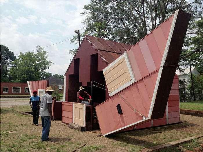 Дом-трансформер может превращаться в театр под открытым небом