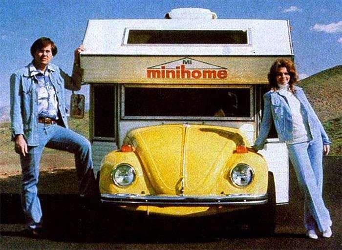 Они сумели превратить -жучок- - фольксваген в дом на колесах!