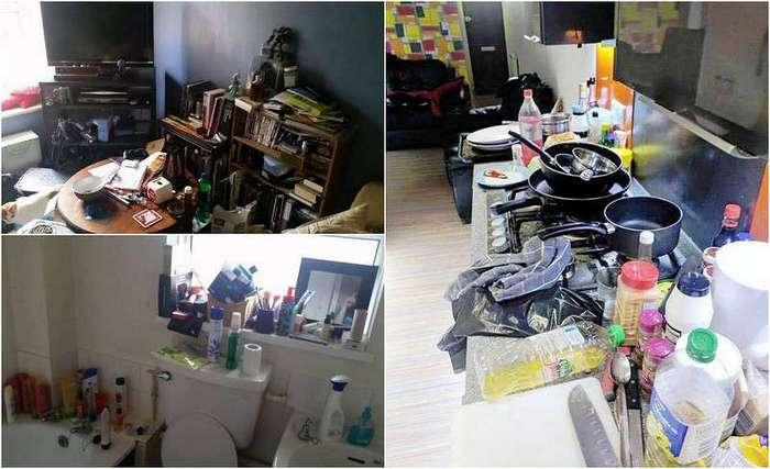 В Великобритании выбирают самую грязную студенческую комнату