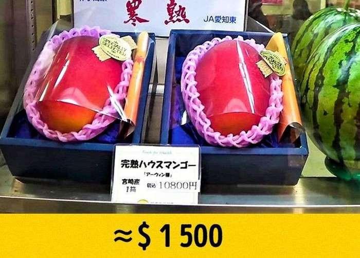 Самые редкие и дорогие фрукты в мире