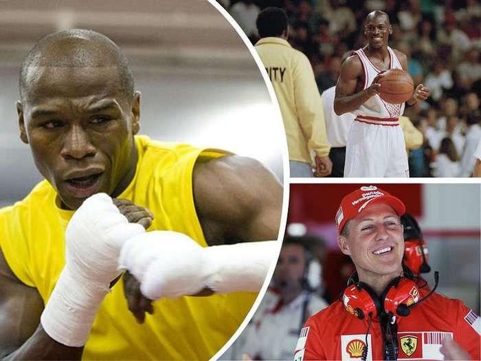 10 самых богатых спортсменов в истории
