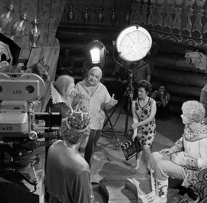 На съёмочных площадках незабываемых советских фильмов