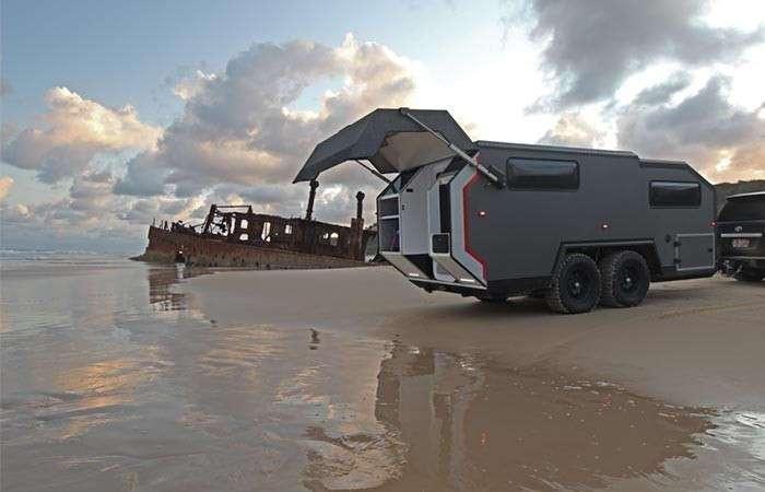 Суперпроходимый дом на колёсах, который позволит дотянуть себя куда угодно