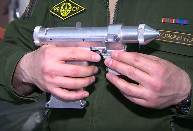Советский лазерный пистолет